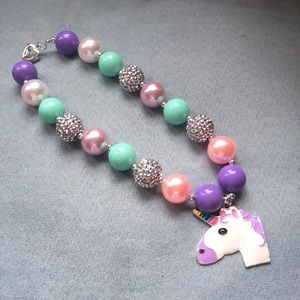 Other - Unicorn Bubble Gum Necklace